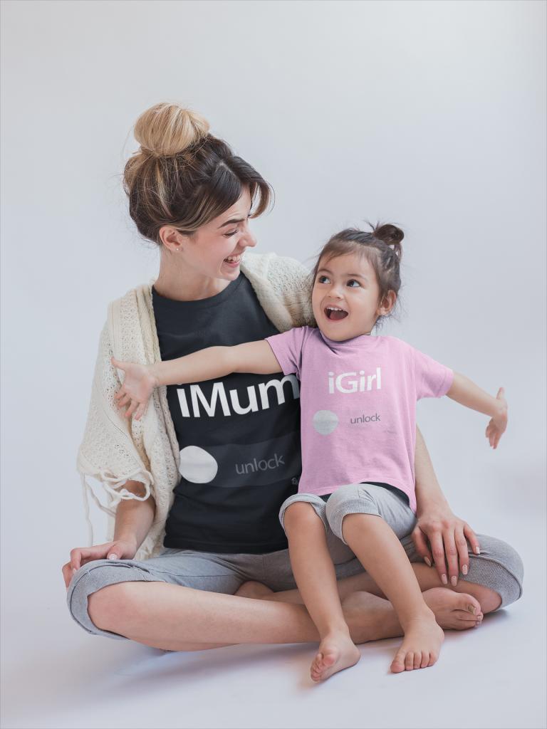 Camiseta para vestir igual madre e hija