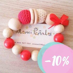 Mordedores y collares de silicona Mami Pañales