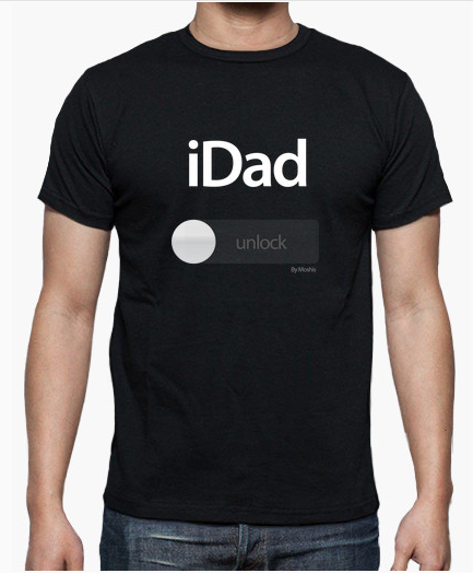 regalo para padres camiseta Idad