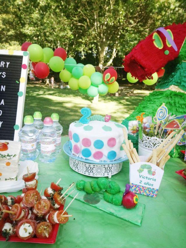 Pastel para fiesta de cumpleaños low cost