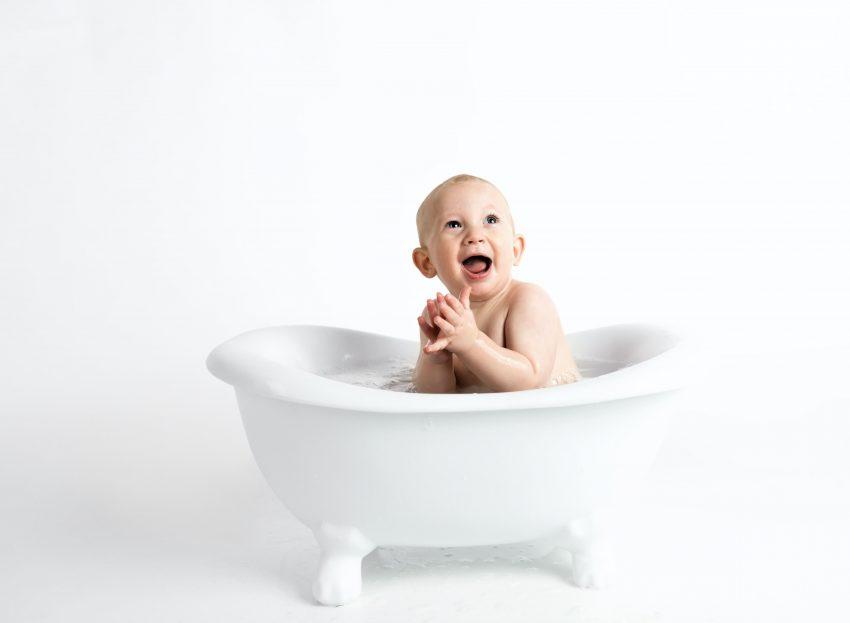 Como Bañar a un bebe