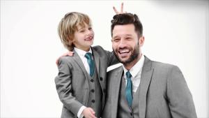 vestir igual padre e hijo
