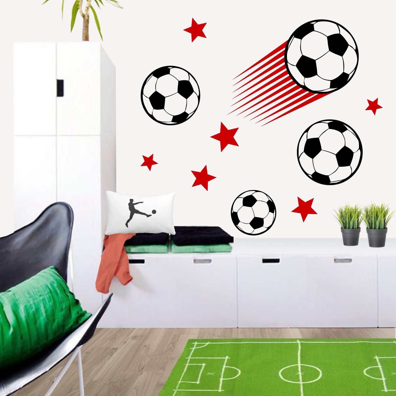 Vinilos para habitaciones infantiles for Decoracion de cuartos de ninos de futbol